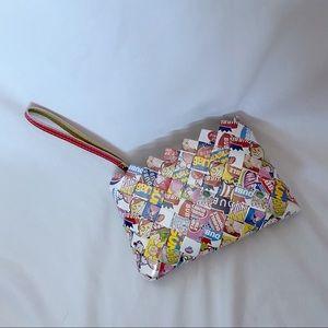 Bubblegum Wrapper Wristlet Purse